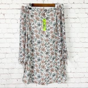NWT Sam Edelman - Floral Off the Shoulder Dress